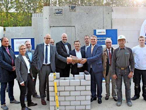 Grundsteinlegung für die Ameos Klinik Heiligenhafen