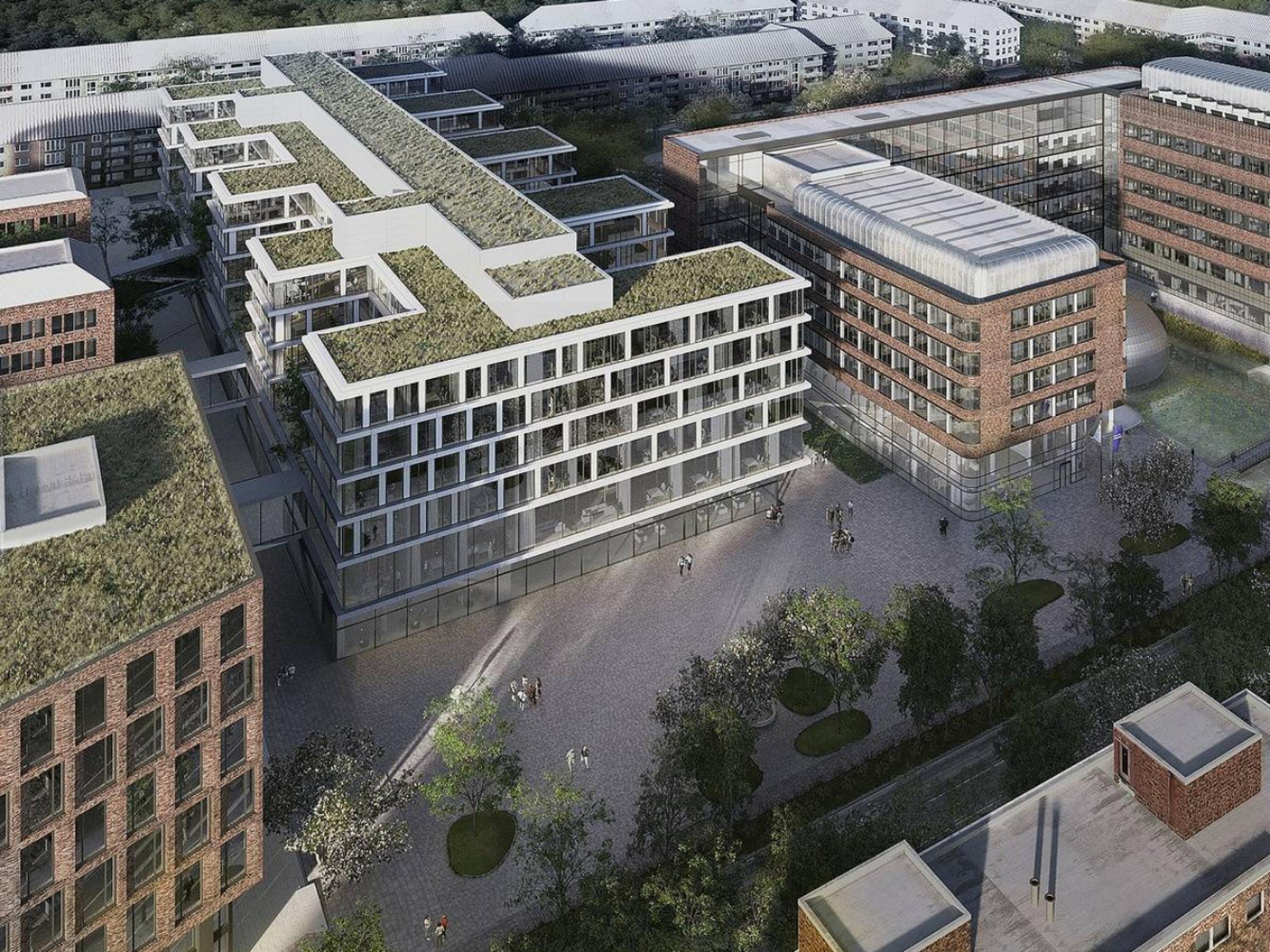 New Beiersdorf Headquarter, Hamburg