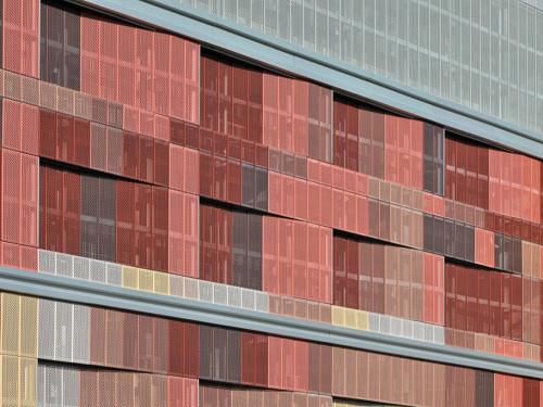 Parkhaus Flensburg, Fassadengestaltung