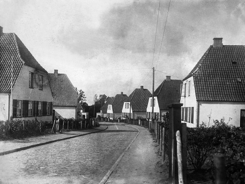 Gartenstadt Vieburg in Kiel, Petersburger Weg