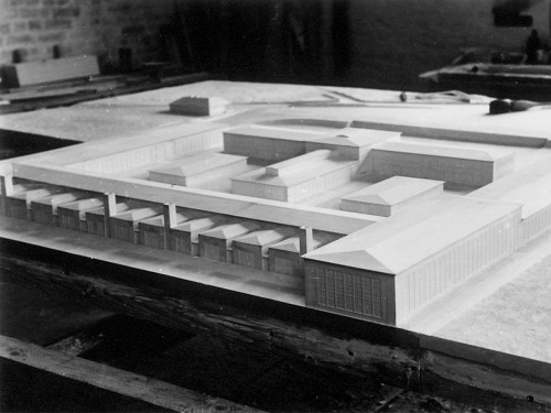 Werksgebäude für die Walter-Werke in Kiel-Projensdorf