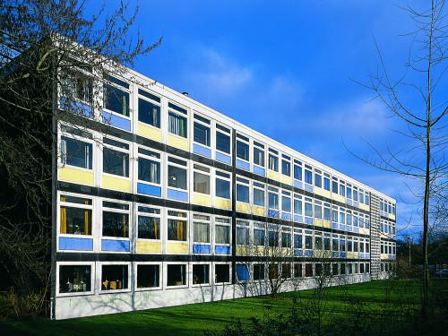 Berufsschulzentrum der Stadt Kiel, Westring, Gellertstraße