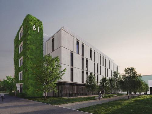 Fassadengestaltung Vorklinikum der Universität zu Lübeck